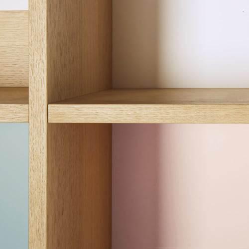 Libreria A 2 Ante E Cubi Multicolore Workshop 6