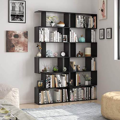 Libreria A Cubi Componibile Homfa Bianca O Nera2