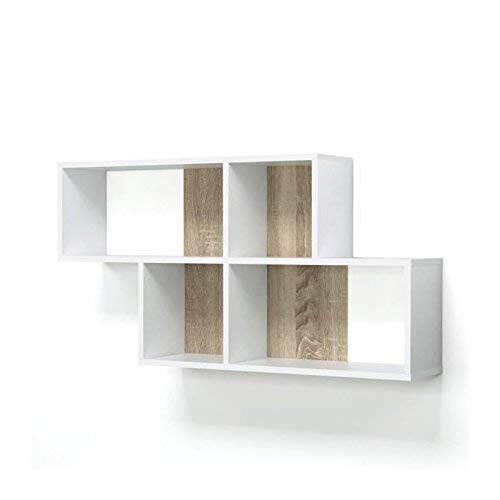 Libreria A Muro A Cubi Fmd Zed A5