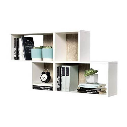 Libreria A Muro A Cubi Fmd Zed A5 2