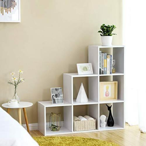 Libreria A Scaletta Vasagle Lbc63wt 2