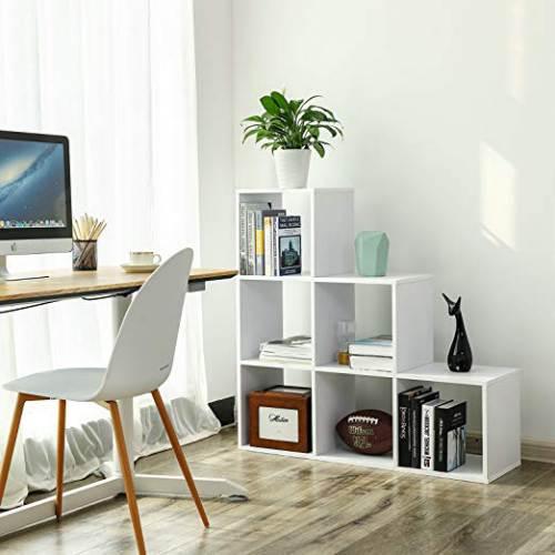 Libreria A Scaletta Vasagle Lbc63wt 3