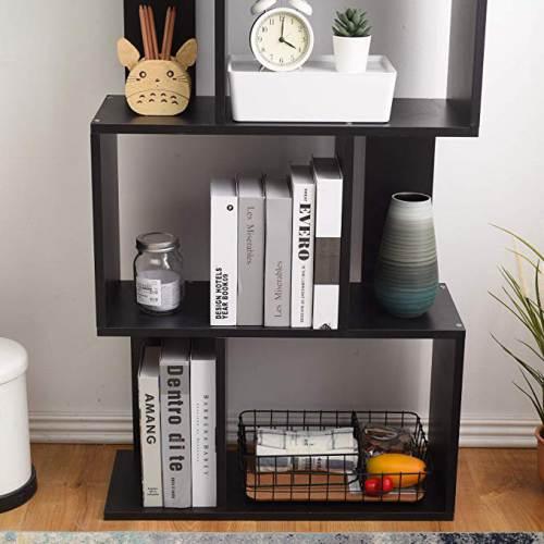 Libreria Nera A Cubi Rebecca 4