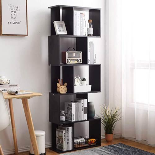 Libreria Nera A Cubi Rebecca 5