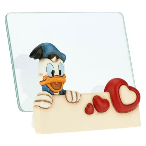 Portafoto Medio In Vetro Paperino Disney Formato 10x15 1