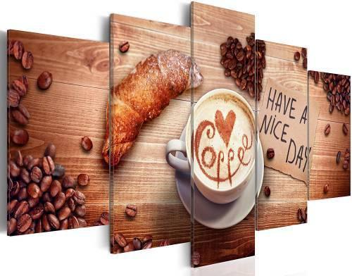 Quadro Cucina Caffe Have A Nice Day 100x200cm