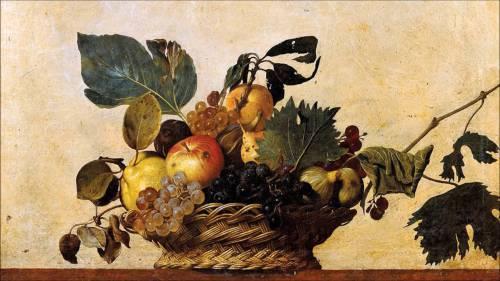 Quadro Caravaggio Canestra Di Frutta