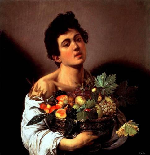 Quadro Caravaggio Fanciullo Con Canestro Di Frutta