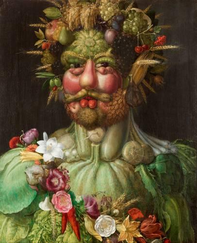 Quadro Frutta Arcimboldo Rudolf Ii