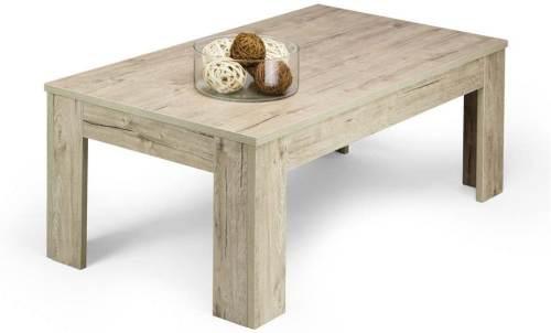 Tavolino Easy Da Salotto Moderno In Legno Quercia