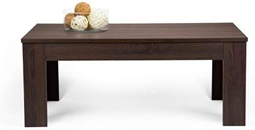 Tavolino Easy Da Salotto Moderno In Legno Rovere Moro 2
