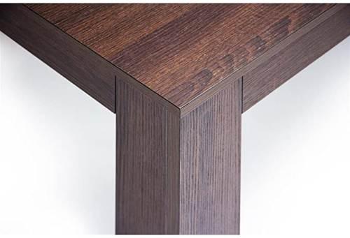 Tavolino Easy Da Salotto Moderno In Legno Rovere Moro 3