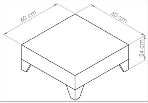 Tavolino Basso Moderno Da Salotto Mobili Fiver 5