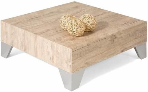 Tavolino Basso Moderno Da Salotto Mobili Fiver Quercia