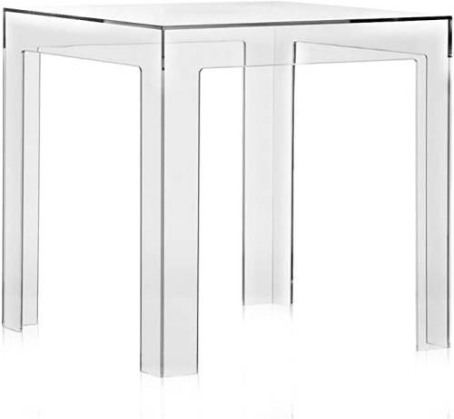 Tavolino Da Salotto Kartell Jolly Trasparente 1