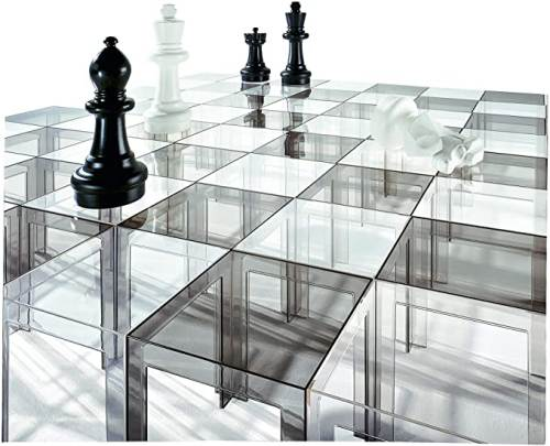 Tavolino Da Salotto Kartell Jolly Trasparente 5