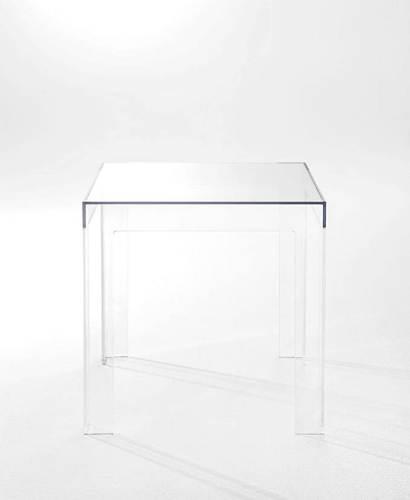 Tavolino Da Salotto Kartell Jolly Trasparente 6