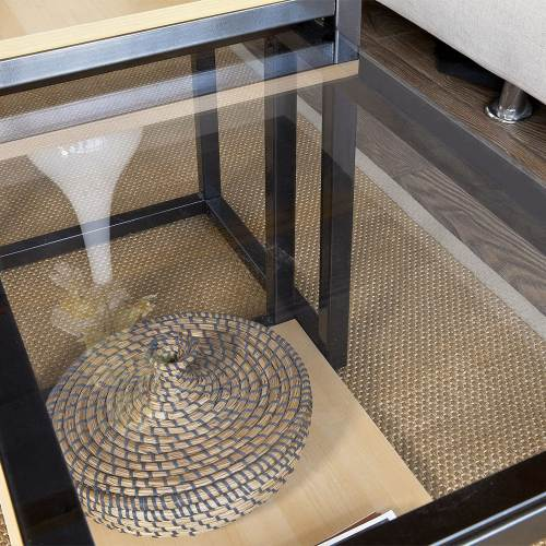 Tavolino Salotto Design Moderno Sobuy 4