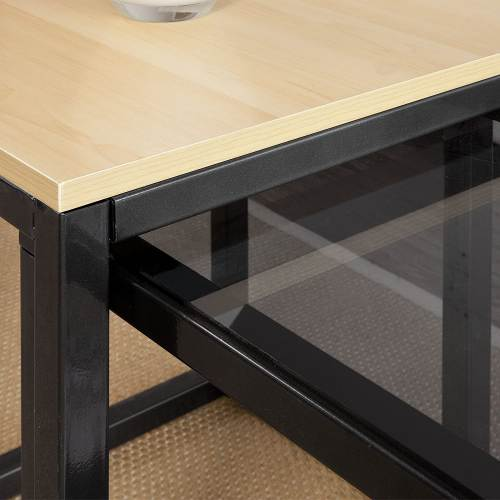 Tavolino Salotto Design Moderno Sobuy 5