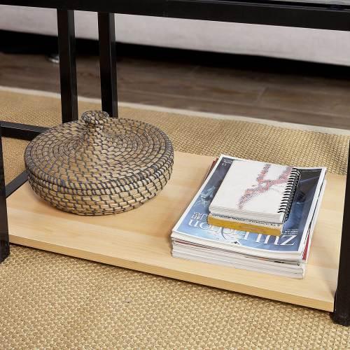 Tavolino Salotto Design Moderno Sobuy 6