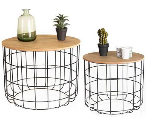 Tavolino Salotto Moderno In Metallo Lifa Living 1