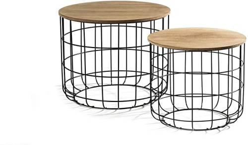 Tavolino Salotto Moderno In Metallo Lifa Living 2