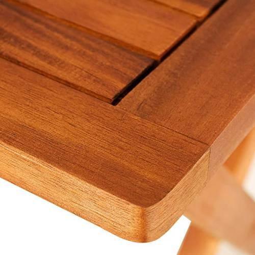 Tavolino Pieghevole In Legno Di Acacia Oliato 3