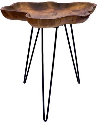 Tavolino Di Design Legno Teak Brillibrum 1