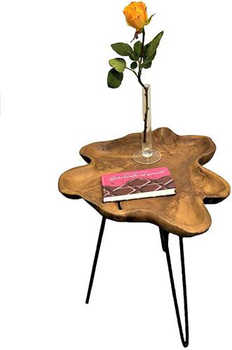 Tavolino Di Design Legno Teak Brillibrum 4
