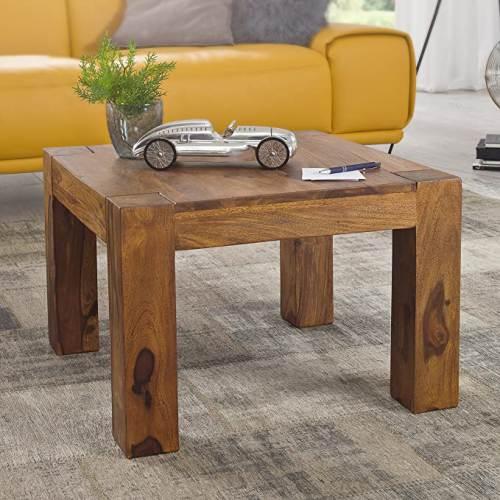 Tavolino In Legno Massello Wohnling 2