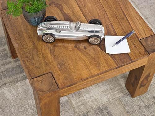 Tavolino In Legno Massello Wohnling 3