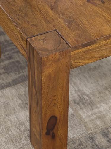 Tavolino In Legno Massello Wohnling 4
