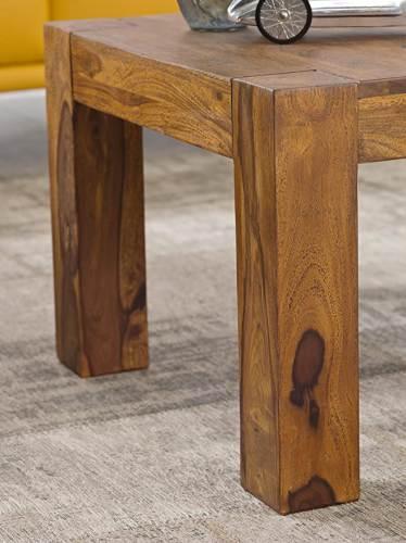 Tavolino In Legno Massello Wohnling 5