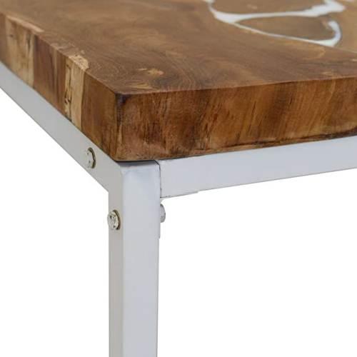 Tavolino Legno E Resina Tidyard 3