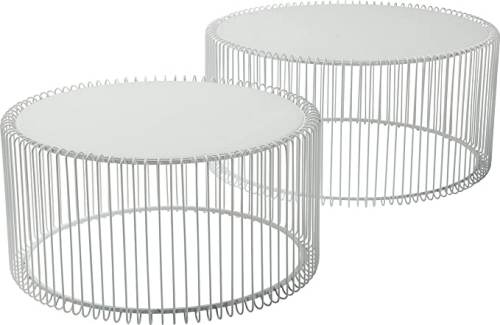 Tavolino Basso Rotondo Kare Design 1