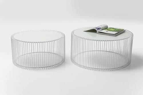 Tavolino Basso Rotondo Kare Design 4