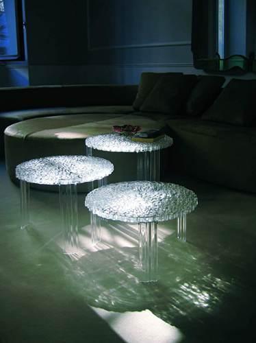 Tavolino Rotondo Di Design Kartell T Table 4
