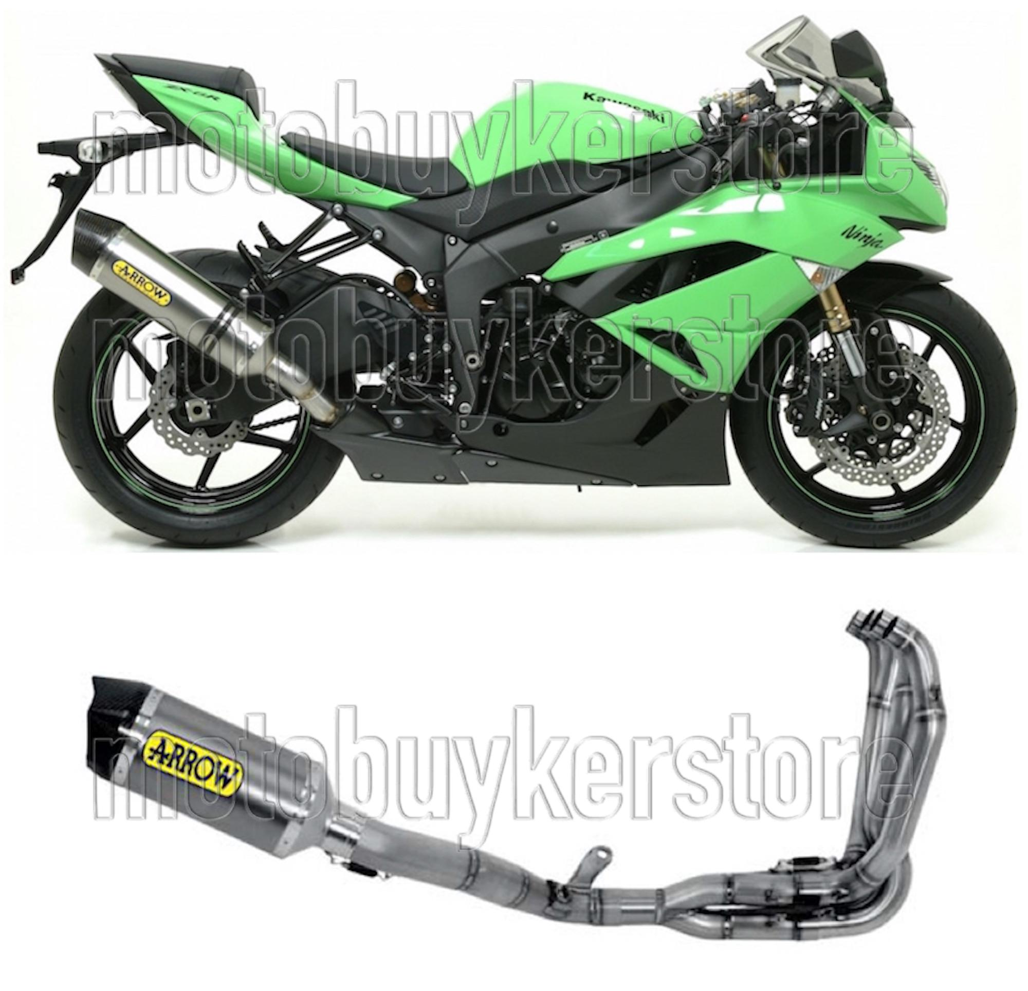 POT COMPLETE COMPETITION EVO 71132CKR ARROW POUR KAWASAKI ZX-6R 2009 09 2010 10