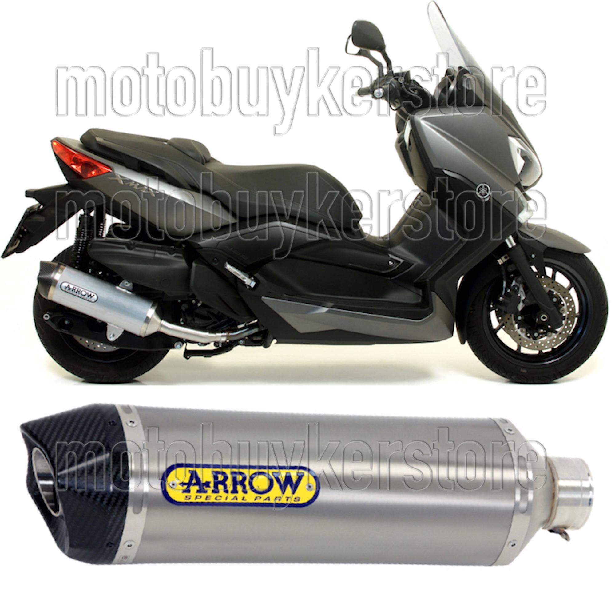 Yamaha XMAX 125/2014/14/Pot d/échappement complet Exhaust mivv ovale en inox