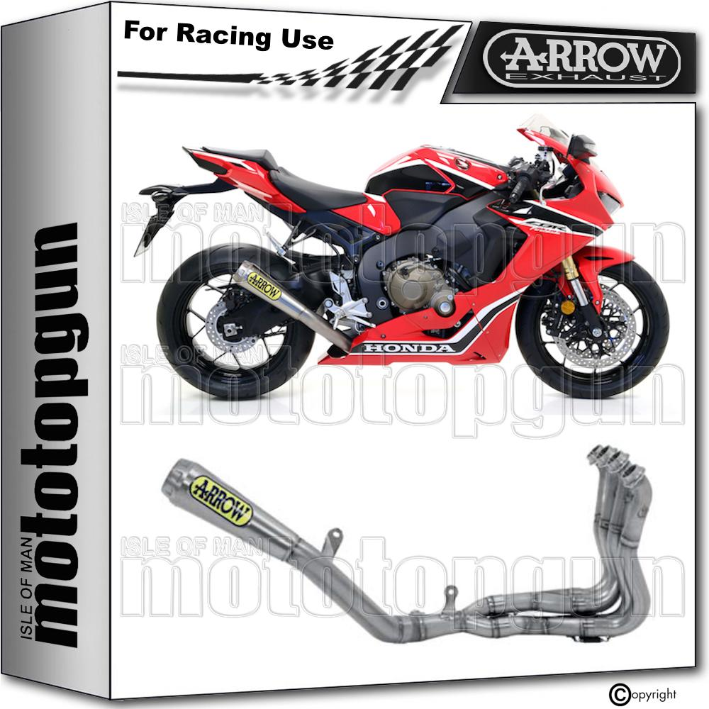 Arrow Full System Exhaust Evo Tuned Pro Race Titanium Honda Cbr 1000