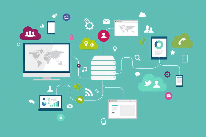 Schéma écosystème webmarketing multi-device