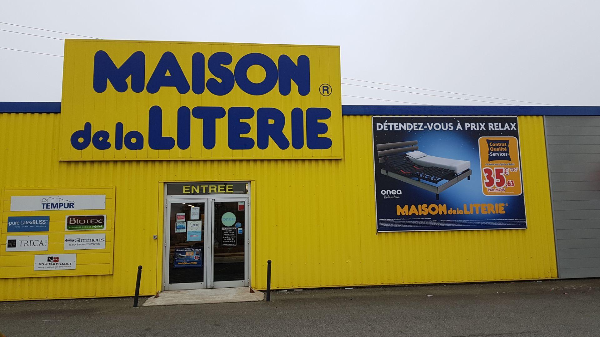 TOILE TENDUE 4X3 - MAISON DE LA LITERIE - SAVOIE PUB - BOURG-EN-BRESSE