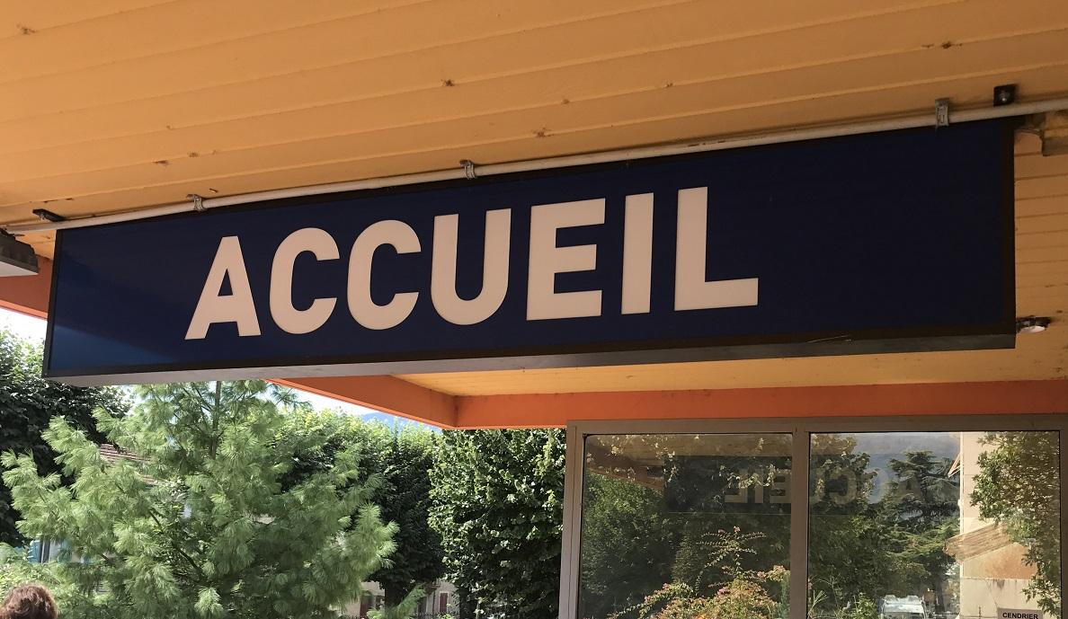 PANNEAU ACCUEIL - 73000 - SAVOIE PUB