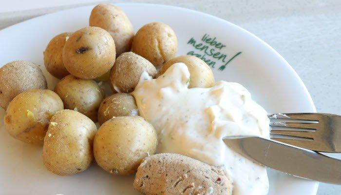 Kartoffeln mit Dip
