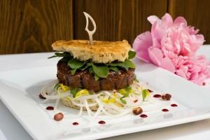 Veganer Hamburger von Vegafit