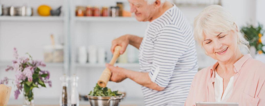 Wdobrej kondycji wstarszym wieku: wegańscy seniorzy