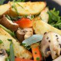 Backkartoffel-Salat