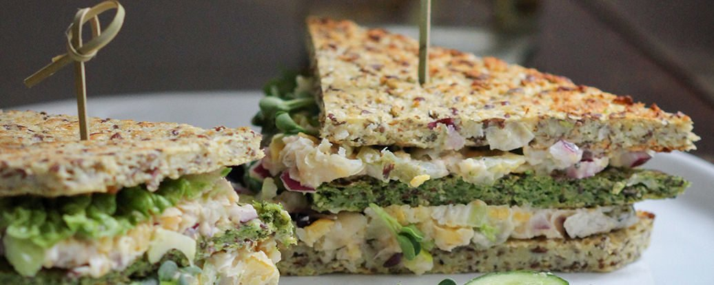 Blumenkohl Und Brokkoli Sandwichbrot Vegan Taste Week