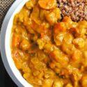 Kichererbsen-Kürbis-Kokos-Curry