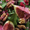 Feigensalat mit Granatapfeldressing